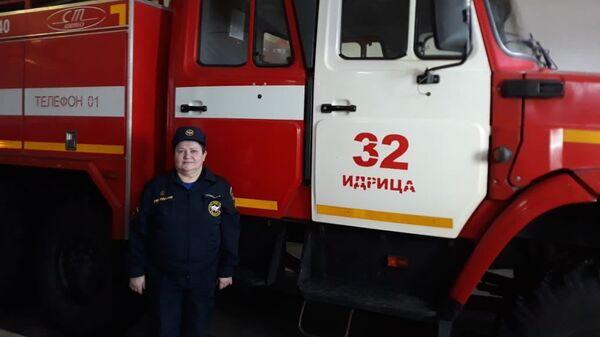 Римма Петровна Сехина, начальник 32-ого пожарно-спасательного отряда МЧС