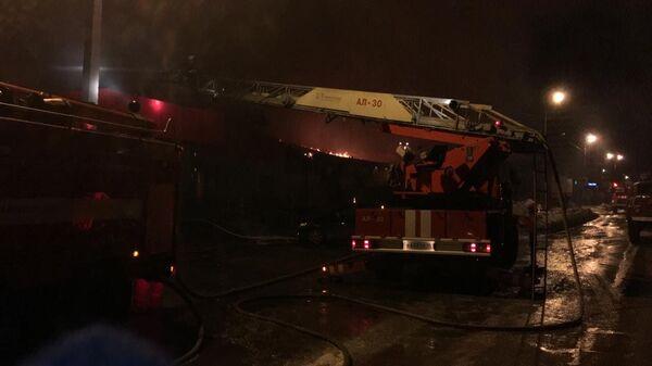 Пожар в магазине в Первоуральске распространился на ветклинику и склад