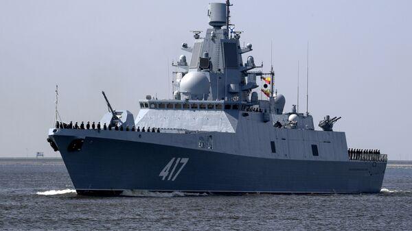 Фрегат Адмирал флота Советского Союза Горшков. Архивное фото