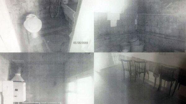 Фотографии дома в Южной Осетии, часть которого принадлежала Земе Габараевой