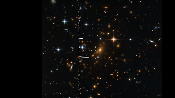 Запись звуков, полученных из ультразвуковых данных Hubble