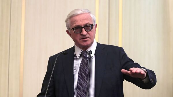 Президент РСПП Александр Шохин на Неделе российского бизнеса
