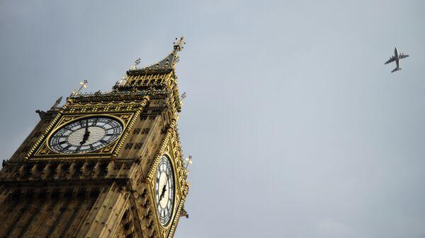 Часовая башня Биг-Бен в Лондоне
