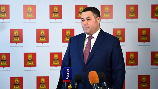 Губернатор Тверской области Игорь Руденя