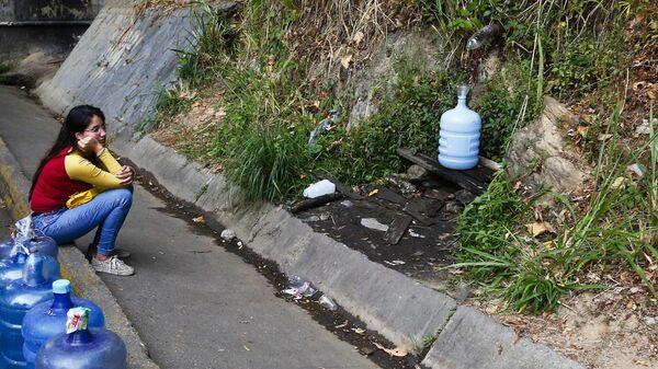 Отключение электричества и воды в Каракасе