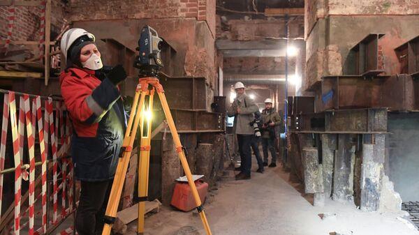 Реставрация Политехнического музея