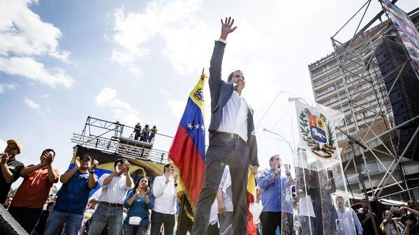 Лидер оппозиционного парламента Венесуэлы Хуан Гуаидо. Архивное фото