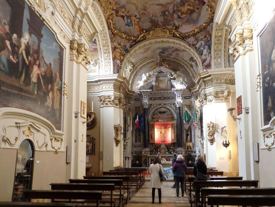 Тоскана. Сиена. Дом святой Катерины
