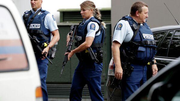 Полицейские в Новой Зеландии