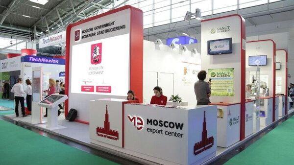 Стенд Московского экспортного центра