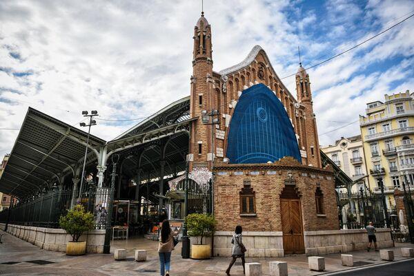 Рынок Колон, или рынок Колумба (Mercado de Colón/Mercat de Colom) в Валенсии