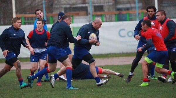 Регбисты второй сборной России