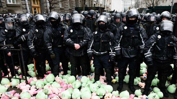 Митинг националистов в Киеве, Украина. 16 марта 2019