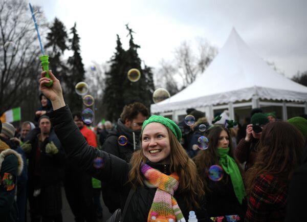 Парад в честь празднования Дня Св. Патрика