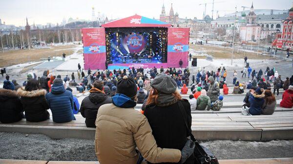 Зрители на Koktebel Jazz Party фестиваля Крымская весна