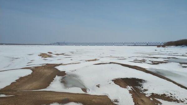 Строительство моста Нижнеленинское-Тунцзян. 18 марта 2019
