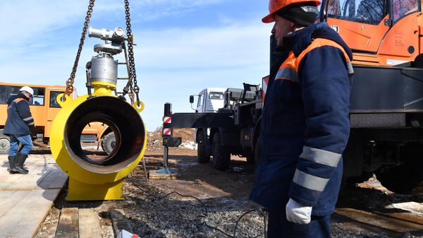 Перекрытие газоснабжения с помощью автоматического запорного устройства