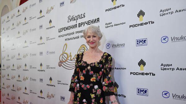Английская актриса Хелен Миррен