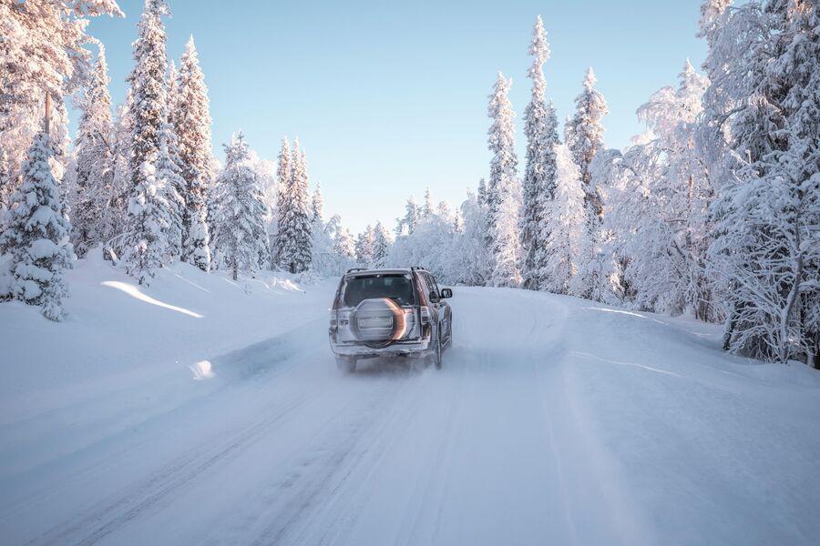 Где-то в Лапландии, по дороге в Норвегию.