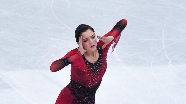 Евгения Медведева. Чемпионат мира по фигурному катанию. Короткая программа