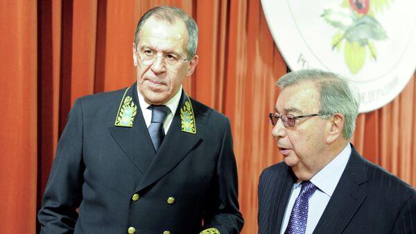 Сергей Лавров и Евгений Примаков