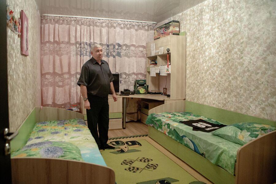 Эдуард Ковалевский в детской