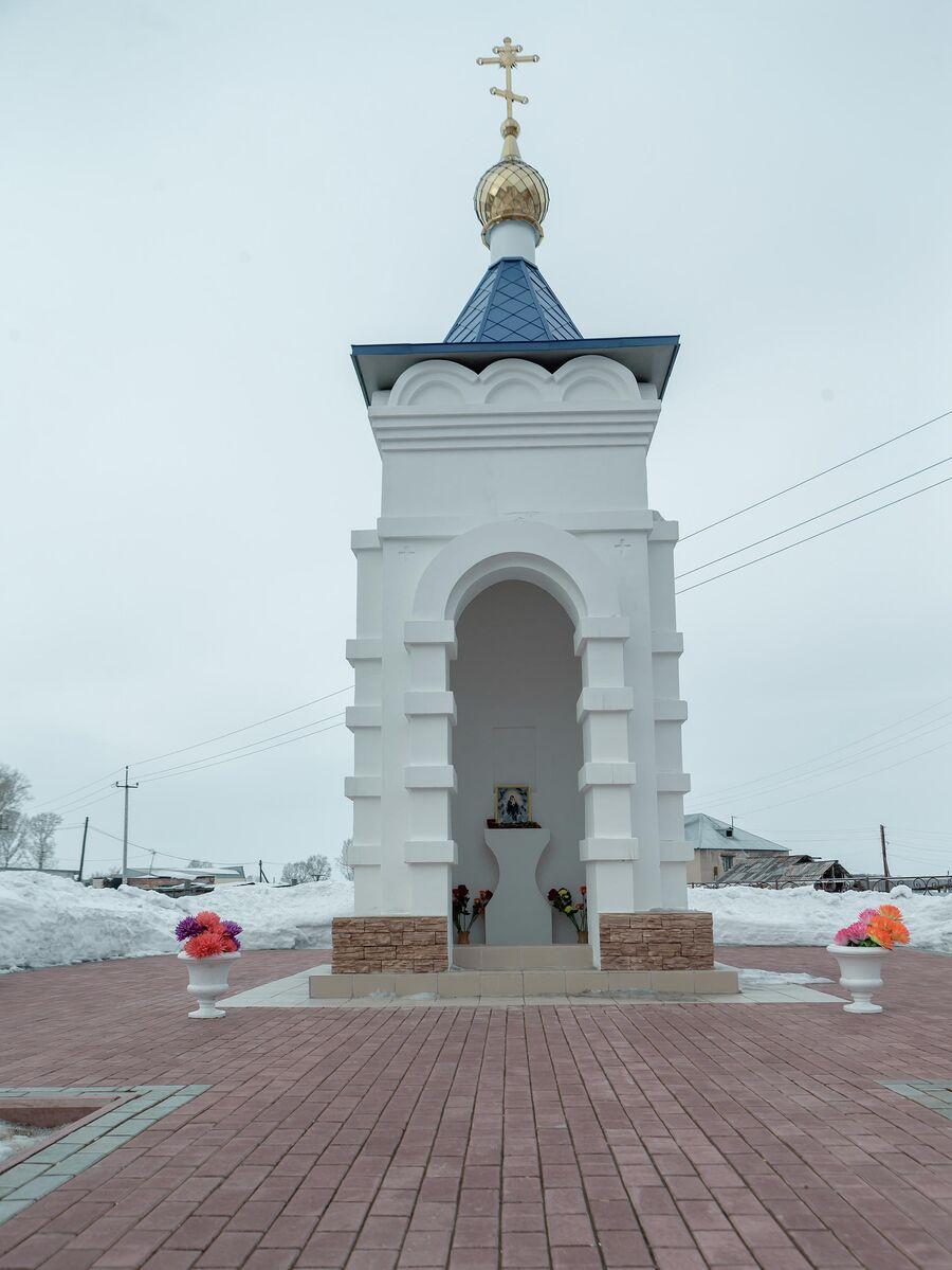 Часовня в поселке Трещевский