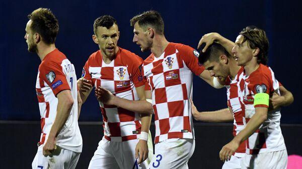 Футболисты сборной Хорватии