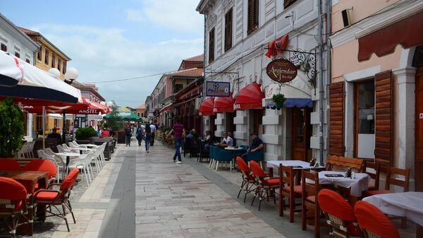 Кафе в Албании