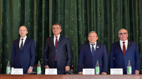 Представление врио главы республики Алтай Олега Хорохордина. 22 марта 2019