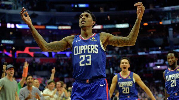Баскетболист Лос-Анджелес Клипперс Луис Уильямс,
