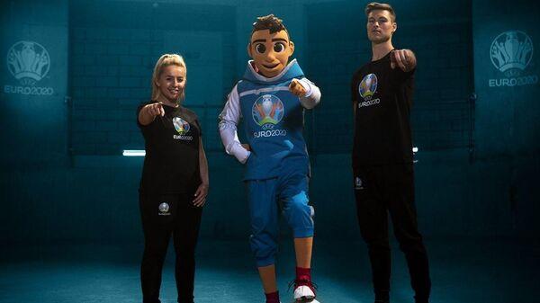 Официальный талисман чемпионата Европы по футболу 2020 года