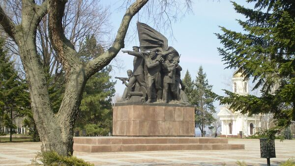 Памятник десантникам Ольшанского в Николаеве