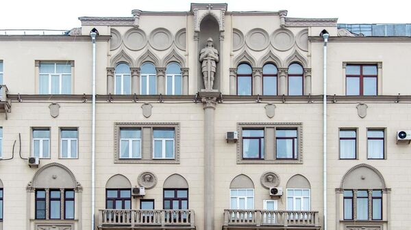 Старинный доходный дом на Садовой-Самотечной улице в Москве