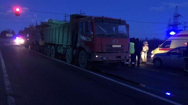 ДТП на 140 км автодороги Вологда – Новая Ладога, территория Череповецкого района