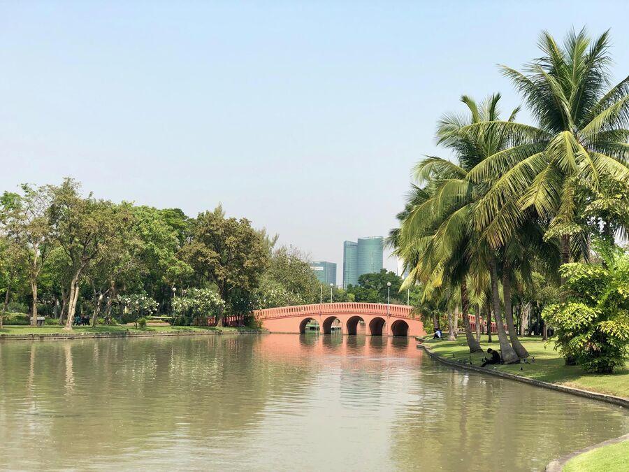 Парк Чатучак, Бангкок, Таиланд