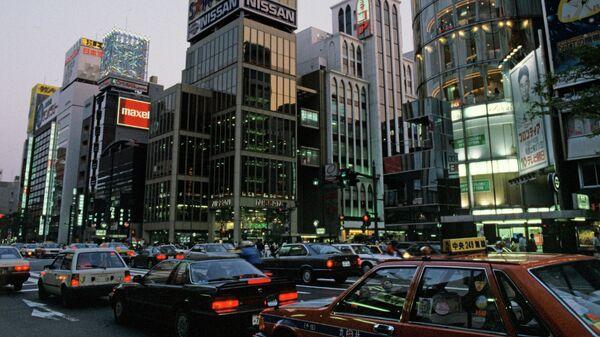Гинза - центральная улица Токио