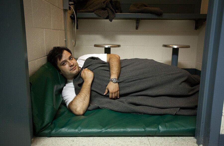 Комната для свиданий при тюрьме в офисе шерифа округа Моно, штат Калифорния