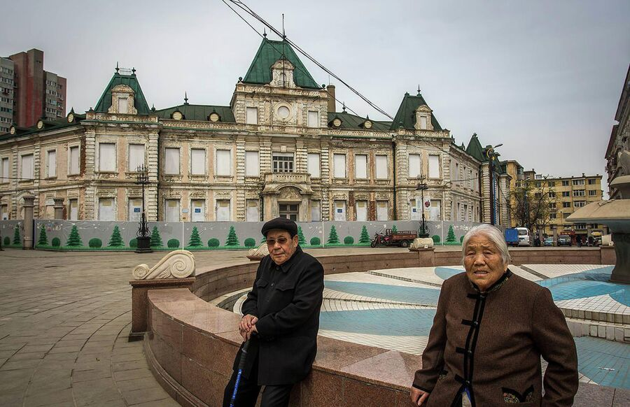 Город Далянь, Китай. Бывший русский город Дальний