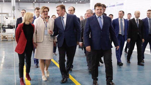 В ОЭЗ Узловая в Тульской области открылось новое производство