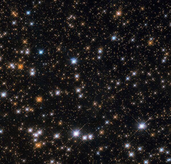 Messier 11 - рассеянное звездное скопление в созвездии Щита