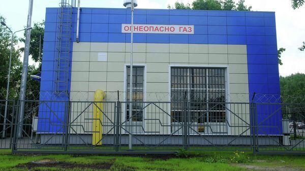 Газорегуляторный пункт Митино Новый на северо-западе Москвы