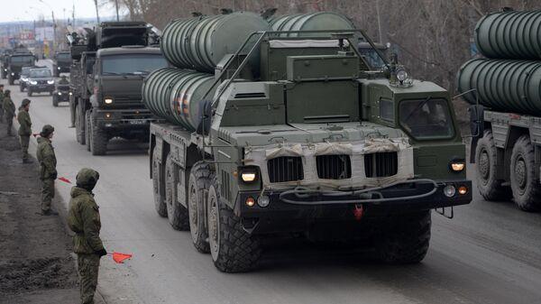 Зенитная ракетная система С-400 Триумф