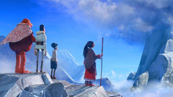 Кадр из мультфильма Потерянное звено