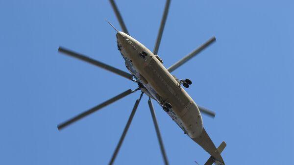 Тяжелый военно-транспортный вертолет Ми-26Т2В