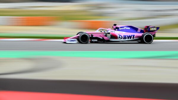 Пилот команды Формулы-1 Рейсинг Пойнт