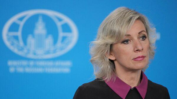 """Захарова ответила на угрозы Украины """"гамбургскими"""" санкциями"""