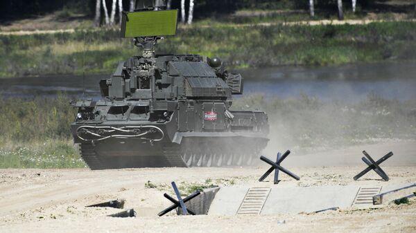 Всепогодный тактический зенитный ракетный комплекс ТОР-М2У