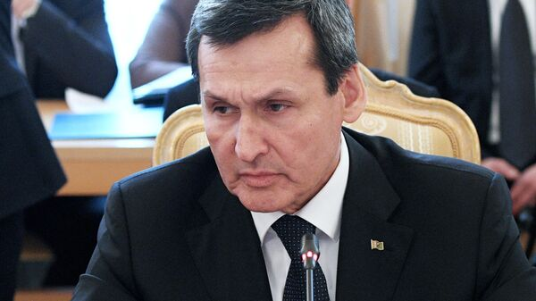 Министр иностранных дел Туркмении Рашид Мередов. Архивное фото