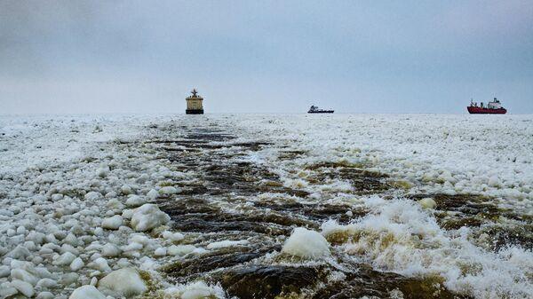 В районе Сабетты — арктический порт на западном берегу Обской губы Карского моря